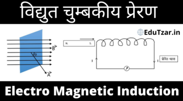 Electromagnetic Induction in Hindi – विद्युत चुम्बकीय प्रेरण | Lesson-9 | Class 12th