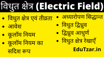 Electric Field in Hindi | विद्युत क्षेत्र | Electric Field intensity in Hindi | Coulomb's Law in Hindi