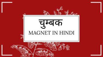 चुम्बक | चुम्बक की परिभाषा | चुम्बक के प्रकार | गुण | उपयोग | Magnet in Hindi