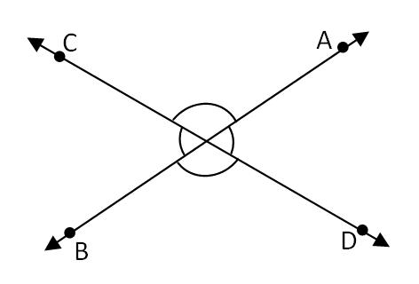 प्रतिच्छेदी रेखाएँ