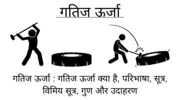 गतिज ऊर्जा : गतिज ऊर्जा क्या है, परिभाषा, सूत्र, विमिय सूत्र, गुण और उदाहरण – Kinetic Energy in Hindi