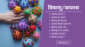 वायरस क्या है : संरचना, प्रकार, लक्षण, रोग और उपयोग | Virus in Hindi
